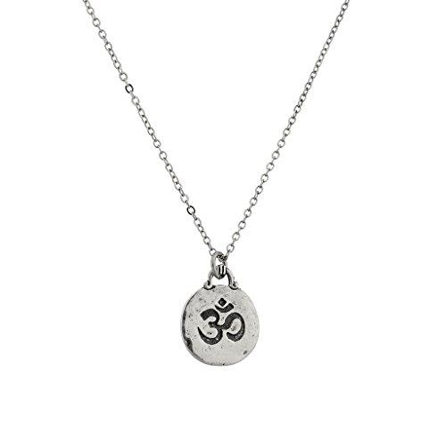 LUX Zubehör Hinduismus Symbol Aum Om Pratima Nikolajewitsch Atman Brahman Soul selbst innerhalb Anhänger Halskette.