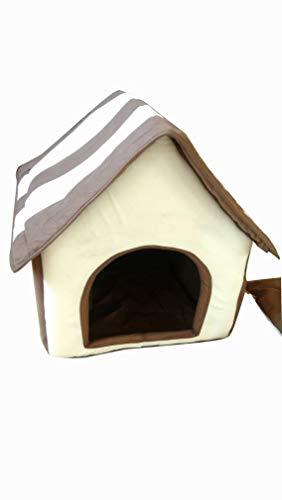 CY Mode Haustier Nest Welpen Zwinger Vier Jahreszeiten Abnehmbare Wäsche Kleiner Hund Indoor Heimtierbedarf Katzenstreu Villa,Ein