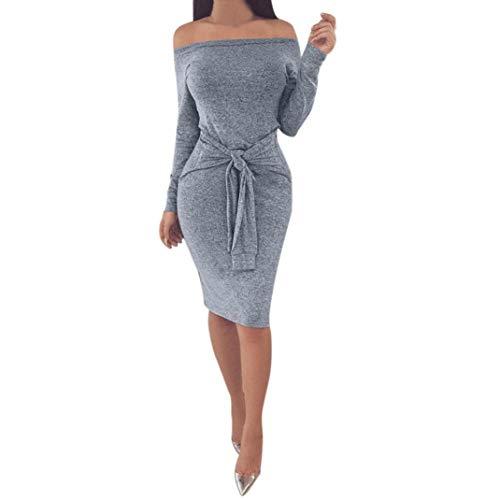 d3cbbe160510 Vestidos para Mujer, Zolimx Faldas Largas Mujeres Boho Sexy Invierno ...