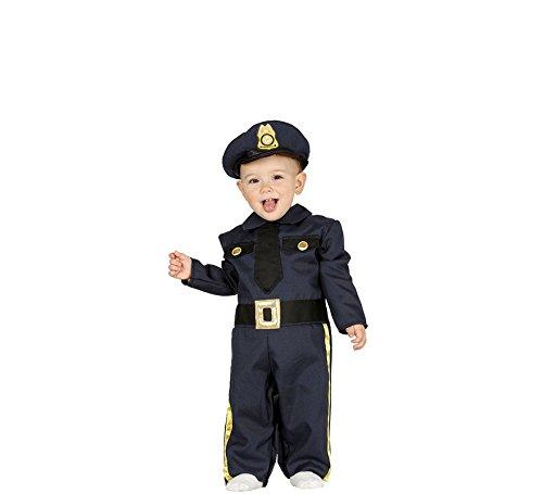 Fiestas Guirca Kostüm amerikanischer Polizist Polizist Baby