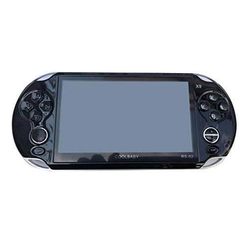 Handheld Spiel Spieler, 5,0 Zoll großen Bildschirm 8 GB Spielkonsole Handheld Spiel Spieler MP3 Spieler Gamepad mit Klassischen Spielen, Kinder