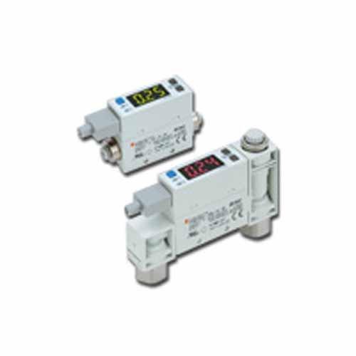 SMC pfm711–02-F 2-color Digital Interruptor de flujo, integrada de pantalla