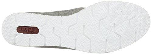 Rieker M1390 Damen Chelsea Boots Grau (shark / 41)