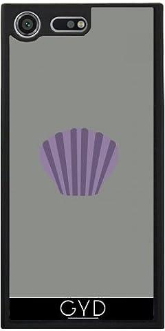 Coque Silicone pour Sony Xperia XZ Premium - Enveloppe Mauve by ilovecotton