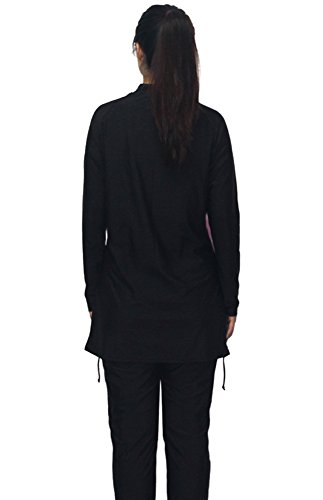 Womens Wetsuit full suits - Modest Full Body Diving Suit & Sports Skins for Running, Exercising, Snorkeling, Swimming, Spearfishing & Water Sports - MZ Garment MS30