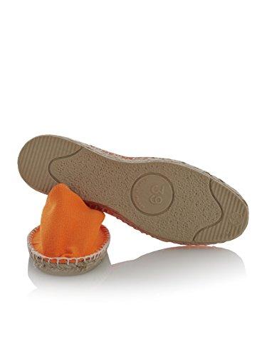 L'originais Sapatos Espadrij 100 Clássico Fluo Espadrille Laranja Unisexo adulto Baixos Aw6dqY