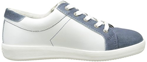 Kickers Hameri, Baskets Basses Garçon Bleu (Bleu/Blanc)