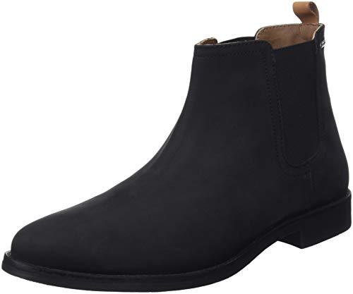 Pepe Jeans London Herren Roy Men Chelsea Boots, Schwarz (Black 999), 43 EU