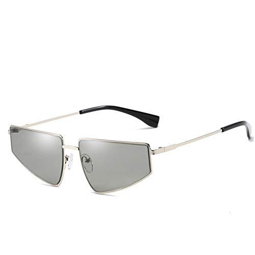 Wenkang Cat Eye Sun Glasses Butterfly Sunglasses Women Men Vintage Gradient Shade Uv400 Metal Frame Eyewear,2