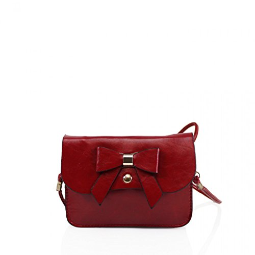Craze London, Borsa a tracolla donna Red