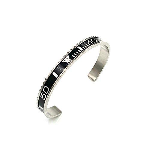 Chronometer silber grey silver grau Lünette Submariner GMT bracelet bangle Armband