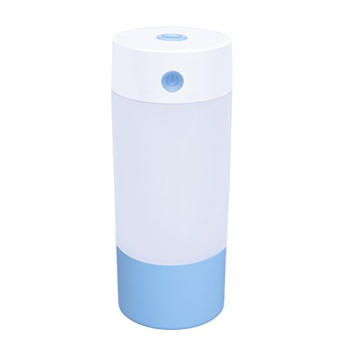 31euWjv2a4L. SS500  - Cool Mist Humidifier FYHAP 250ml Versatile Portable USB Air Humidifier Whisper Quiet with Night Lights and Automatic Shut-Off Perfect for Home, Car, Yoga, Office, Spa, Bedroom, Baby Room (Blue)