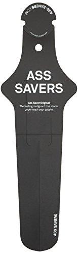 Ass Savers Original - Guardabarros para bicicletas, color negro, talla 34 cm