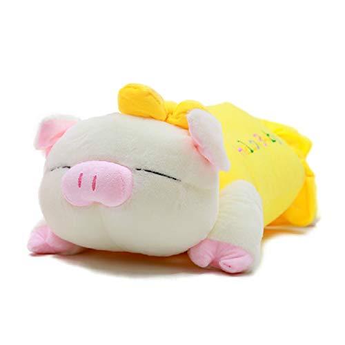 DWSM Niedliches Sanshun Schwein Plüschtier Schwein Puppe Großes Warzenschwein 40Cm