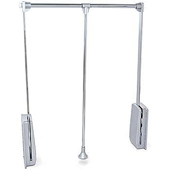kleiderlift lift kleiderstange schrank ordnungssystem k che haushalt. Black Bedroom Furniture Sets. Home Design Ideas