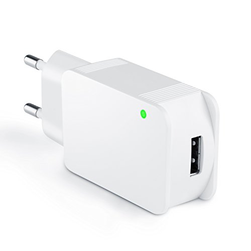 CSL - USB Quick Charge Netzteil / Ladegerät (max. 2000mA) | 5V DC USB Ladeadapter / Steckernetzteil | universal einsetzbar | geeignet für alle Handys & Smartphones + externe Festplatten, Digitalkameras, Camcorder, Powerbanks, Tablet-PCs uvm.