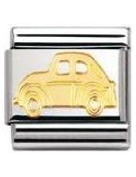 Nomination Composable Classic TECH Edelstahl und 18K-Gold (Auto) 030108