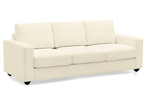 Scotty & Travis Alberto AlWhi3QuFaMat Three Seater Sectional Sofa (White)