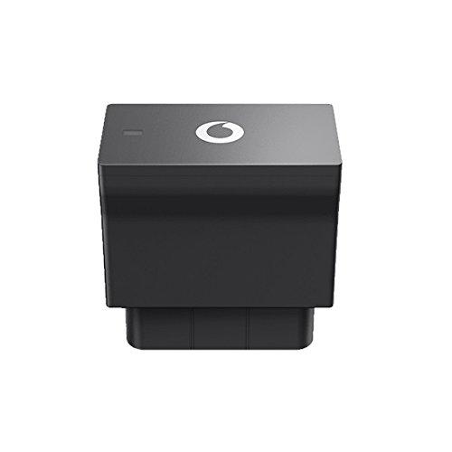 V-Auto by Vodafone GPS + Mobilfunk-Tracker für Ihr Auto, Diebstahlschutz, Aufzeichnung und Bewertung der Fahrten über die OBD-Schnittstelle