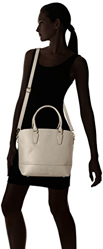 David Jones - 5608a-2, Borse a mano Donna Grigio (Grey)