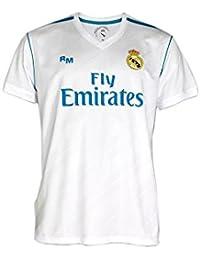 Camiseta 1ª Equipación Replica Oficial REAL MADRID 2017-2018 Dorsal RONALDO - Tallaje ADULTO (L)