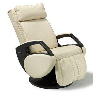 Massagesessel | Massagestuhl Leder beige Keyton Dynamic - Top Angebot von welcon.de