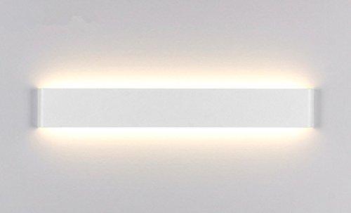 Spiegelleuchte Aluminium Acrylglas Bilderleuchte 14W 1540LM 70 SMD 2835 LED Badlampe Spiegellampe Bilderlampe Warmweiss(2800-3200K) 41CM