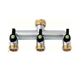 Brass 3 way manifold
