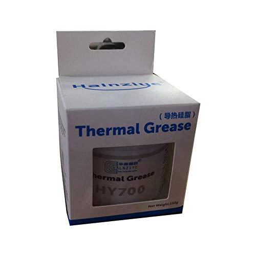 MoneyQiu MY-700(50Gramm)> 3.14 W/m.K,Wärmeleitpaste Hochleistungs-Wärmeleitpaste für alle Kühler - Hohe Wärmeleitfähigkeit mit Niedriger thermischer Widerstand