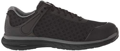 Timberland PRO Men s Drivetrain Composite Toe EH Industrial Boot  Black mesh  15 W US