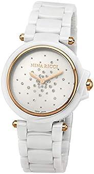 ساعة كاجوال مطاطية للـنـسـاء من نينا ريتشي، انالوج- N Nrd068007