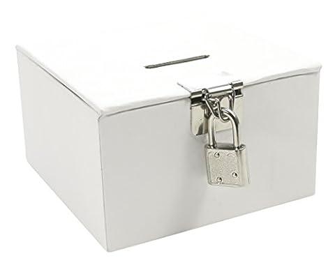 Maildor - GB022O - Loisir créatif - Gamme - Boîte à Trésors à Personnaliser, Blanc