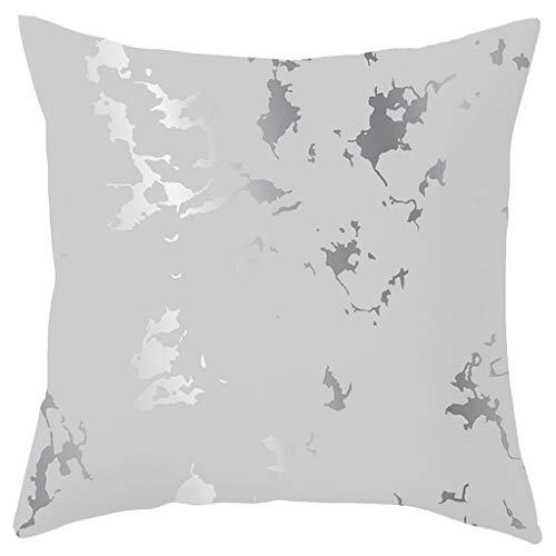 OPAKY Super weiche geometrische Kurze Plüsch Kissenbezug Sofa Pad Set Home Decoration