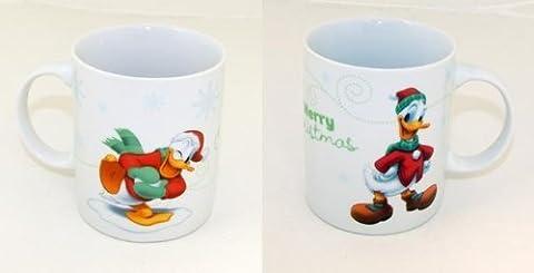 Motifs de noël disney mug donald duck daisy mickey mouse minnie mouse gobelet neuf, 4x Donald Duck Tasse