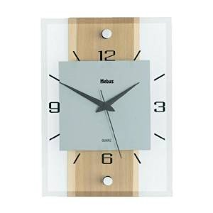 Classic Quartz Beech Wall Clock