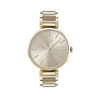 Hugo BOSS Reloj Análogo clásico para Mujer de Cuarzo con Correa en Acero Inoxidable 1502415