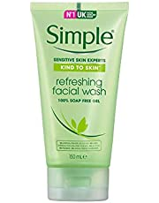 Simple Kind To Skin Refreshing Facial Wash, 150 ml