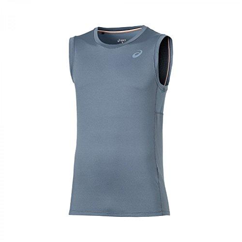 Asics Abbigliamento donna Sleeveless Top, Unisex, Oberbekleidung Sleeveless Top, blu