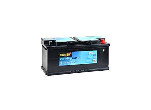 Batterie démarrage fulmen fk1050 12v 105ah 950a