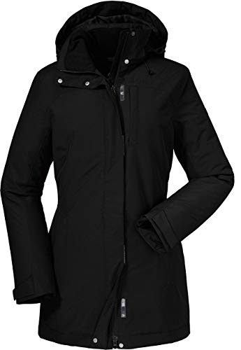 Schöffel Damen Insulated Jacket Portillo wind- und wasserdichte Winterjacke für Frauen, warme und atmungsaktive Outdoor Jacke