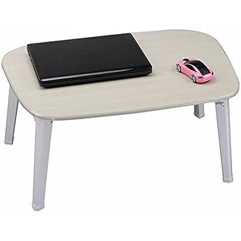 uzi-lazy persone benessere Elegante, minimalista Tavolo per PC portatile, impermeabile, pieghevole, per letto da tavolo, piccolo c