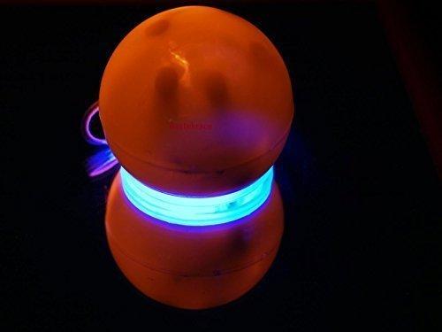 un grand LED Clown Nez Avec ROUGE-BLEU EFFET DE LUMIÈRE POUR UN adultes ou enfant (clignotant éclairage)