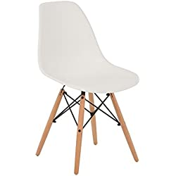Silla IMS Blanco Madera Natural- (Elige Color) SKLUM
