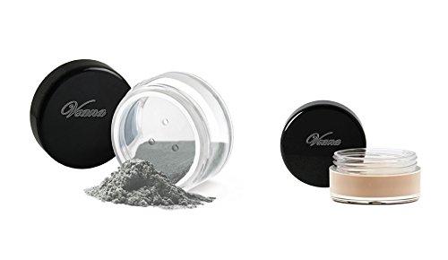 Veana Mineral Line Ombre à paupières Plus Eye Primer Silver, 1er Pack (1 x 10 g)