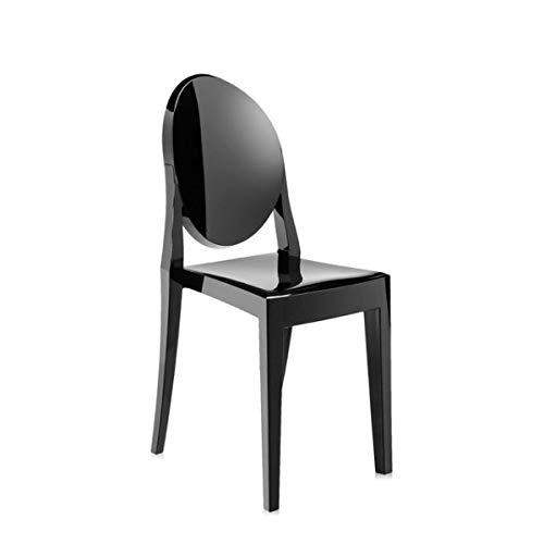 Kartell Victoria Ghost 4857 - Couleur: revêtement de Polycarbonate Gloss Black (E6/Nero lucido)