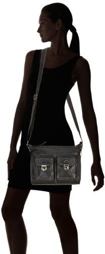 Bruno Banani Shoulder Bag HTL 320.1820, Borsa a tracolla Donna Marrone (Braun (braun)