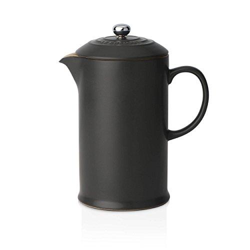 Le Creuset Cafetière à Piston 0,8L Noir