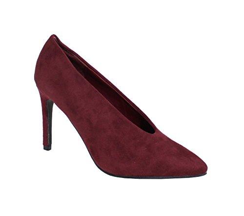 By Shoes, Damen flache Schuhe Rot