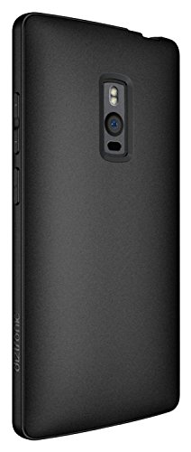 Diztronic OP2-FM-BLK Vollmatte Flexible TPU Schutzhülle für OnePlus Two schwarz