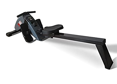 XS Sports 2019 Model R010 Luxury Home Rowing Machine-Folding with Magnetic Adjustable Resistance-Fitness Rower from XS Sports